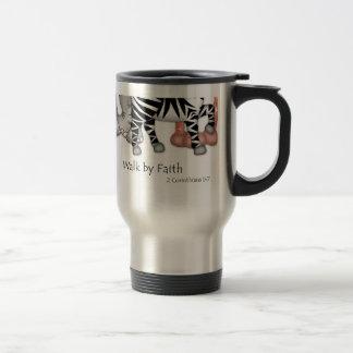 """BaZooples """"Walk By Faith"""" Travel Mug"""