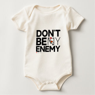 BB Don't Be My Enemy Baby Bodysuit