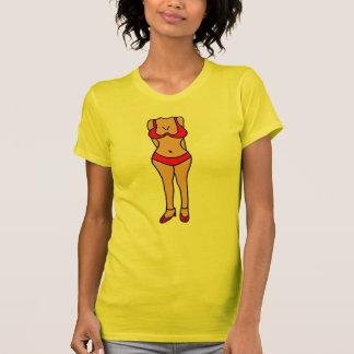 BB- Hilarious Bikini Bathing Suit Body Cartoon T-Shirt