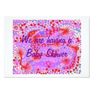 Bbaby Shower Invitation, fully customizable. 13 Cm X 18 Cm Invitation Card