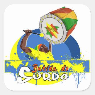 BBaC Stuff Surdo Special K Samba Batucada Brasil Square Sticker