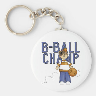 BBall Champ T-shirts and Gifts Key Chain