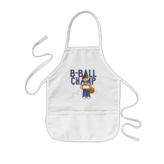 BBall Champ T-shirts and Gifts Kids Apron
