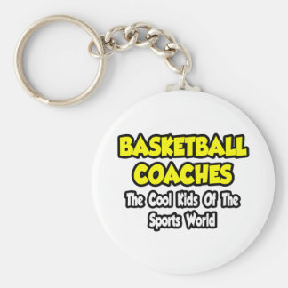 BBall Coaches Cool Kids of Sports World Keychains
