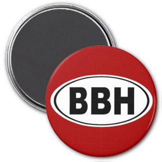 BBH Boothbay Harbor Maine 7.5 Cm Round Magnet