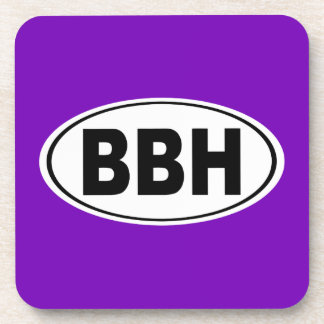 BBH Boothbay Harbor Maine Beverage Coaster