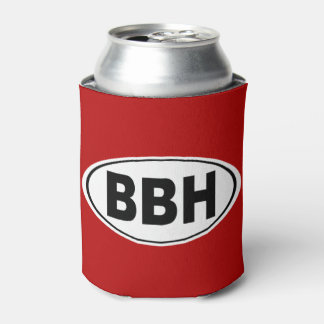 BBH Boothbay Harbor Maine Can Cooler