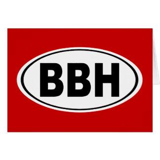 BBH Boothbay Harbor Maine Card