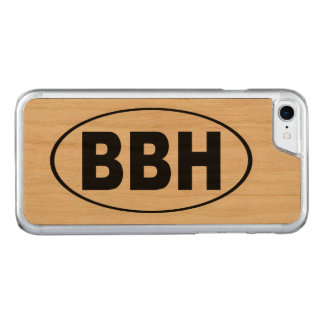 BBH Boothbay Harbor Maine Carved iPhone 8/7 Case