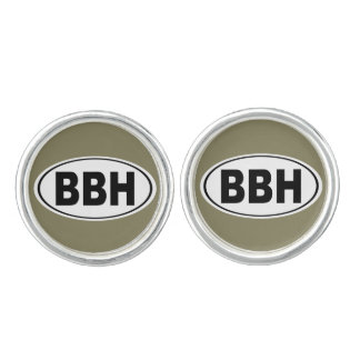 BBH Boothbay Harbor Maine Cufflinks
