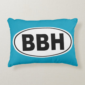 BBH Boothbay Harbor Maine Decorative Cushion