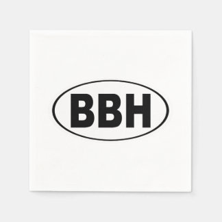 BBH Boothbay Harbor Maine Paper Serviettes