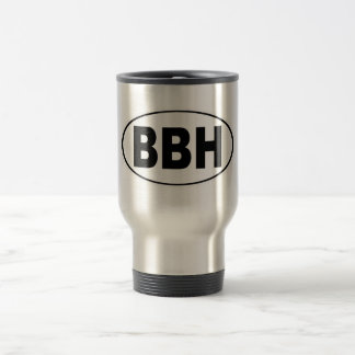 BBH Boothbay Harbor Maine Travel Mug