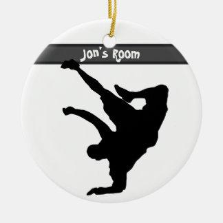 Bboy Door Hanger / Room Ceramic Ornament