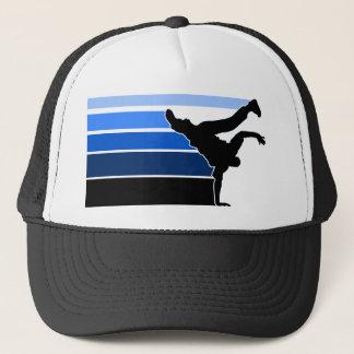BBOY gradient blu blk hat