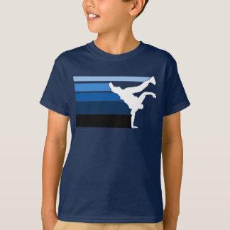 BBOY gradient blu wht T-Shirt