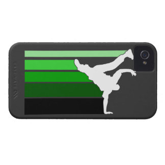 BBOY gradient grn/blk iPhone 4 case