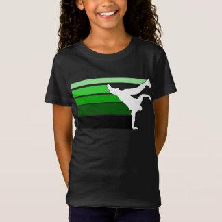 BBOY gradient grn wht kids T-Shirt