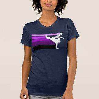 BBOY gradient prpl wht T-Shirt