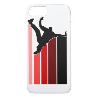 BBOY gradient red/blk iPhone 7 case