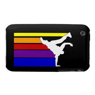 BBOY lines rainbow iPhone 3 Case-Mate Cases