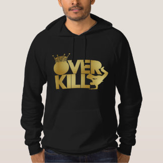 bboy - over kill - (faux gold) hoodie