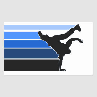 BBOY sticker blu