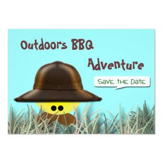 BBQ Adventure 13 Cm X 18 Cm Invitation Card