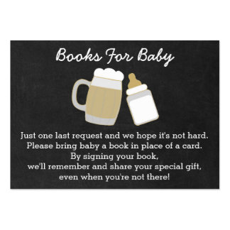BBQ Baby Shower Book Request Cards Pack Of Chubby Business Cards