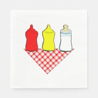 BBQ Baby Shower Disposable Serviette