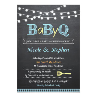 bbq baby shower invitations & announcements   zazzle.au, Baby shower invitations