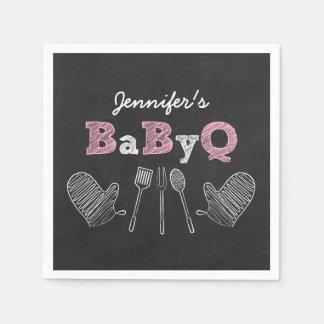 BBQ Baby Shower Napkins Paper Serviettes