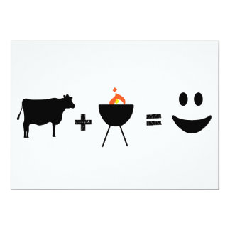 BBQ Beef Happy Card