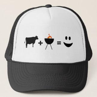 BBQ Beef Happy Trucker Hat