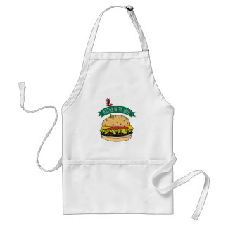 BBQ Burger Master of the Grill Standard Apron