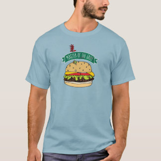 BBQ Burger Master of the Grill T-Shirt