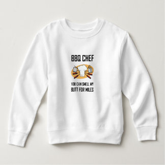 BBQ Chef Smell Butts Sweatshirt