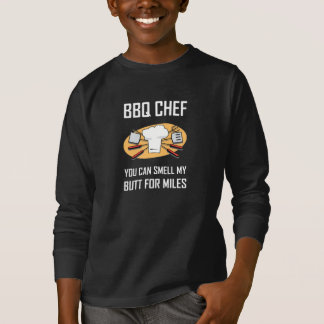 BBQ Chef Smell Butts T-Shirt