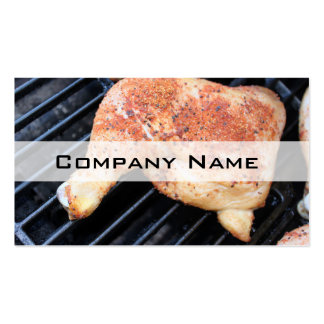 BBQ Chicken Business Card Template