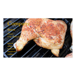 BBQ Chicken Pack Of Standard Business Cards