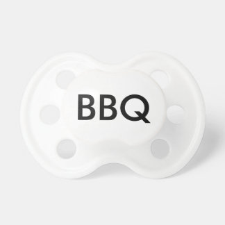 BBQ Custom Baby Pacifier