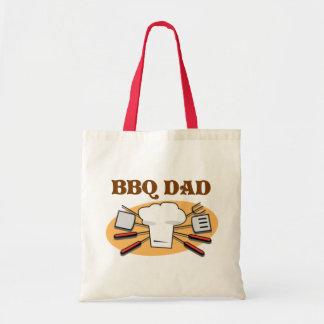BBQ Dad Budget Tote Bag