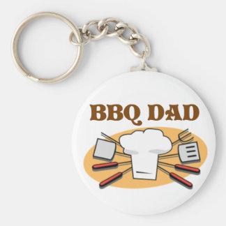 BBQ Dad Key Ring