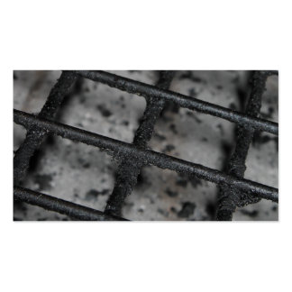 BBQ Grill Picture. Pack Of Standard Business Cards