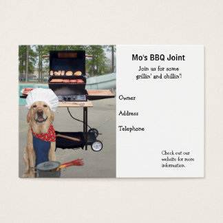 BBQ Joint Business Card