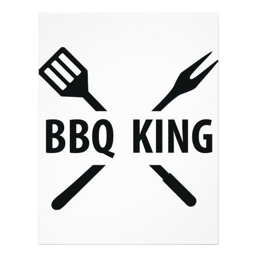 BBQ King icon Custom Flyer
