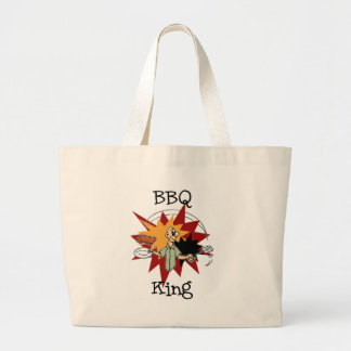 BBQ King T-shirts and Gifts Jumbo Tote Bag
