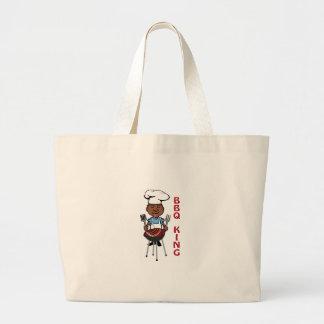 BBQ King Jumbo Tote Bag