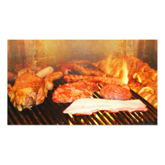 BBQ Party Business Card