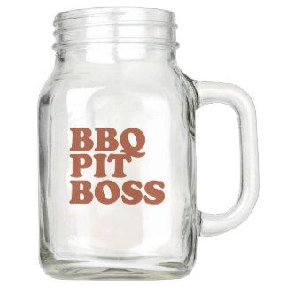 BBQ Pit Boss Mason Jar